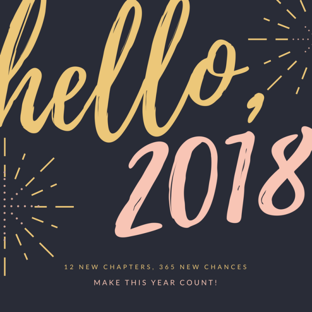 Pink & Gold Simple New Year Social Media Graphics (2)